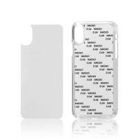 Чехол для IPhone X пластик прозрачный со вставкой
