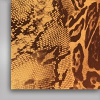 Фольга термотрансферная, светлый леопард , 500мм x 50м