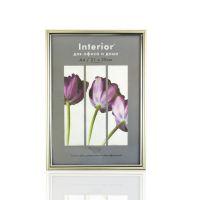 Фоторамка пластиковая Interior Office 21*30 см. Серебро (590)
