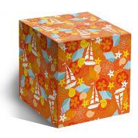 Коробка под кружку Детская оранжевая