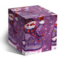 Коробка под кружку Снеговик