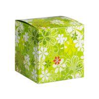 Коробка под кружку зеленая