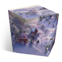 Коробка под водяной шар «Зима»