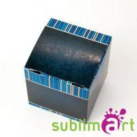 Коробка под кружку синяя