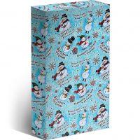 Коробка под чехол iPhone 4-5 Веселый праздник 130х70х15мм