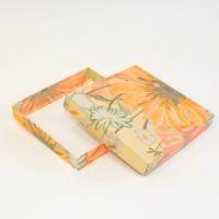 Коробки под тарелки (Цветы) п/ф