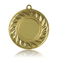 Медаль HB100 золото D50мм, D вкладыша 25мм