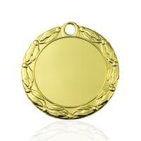 Медаль корпусная MK156a золото D медали 70мм, D вкладыша 50мм