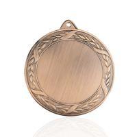 Медаль корпусная MK197c бронза D медали 70мм, D вкладыша 50мм