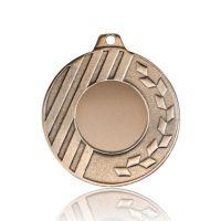 Медаль SC1701-50 бронза D50мм, D вкладыша 25мм