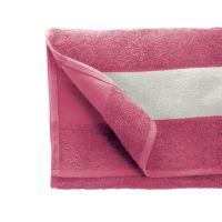 Полотенце махровое 30*70 см, 400 г/м2, хлопок, с 1 полем под сублимацию, розовый (225)