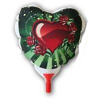 Воздушный фотошар сердце А3